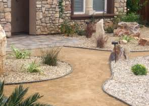 crushed gravel hardscape and masonry articles