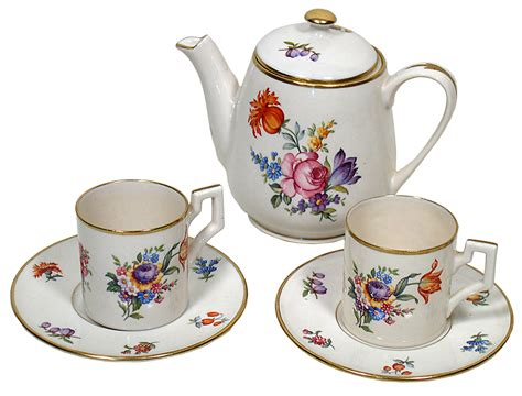 Coffee Set free images cafe vintage flower teapot pot saucer