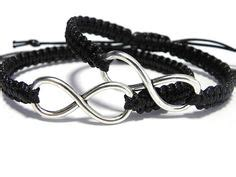 Matching Woven Bracelet matching bracelets couples bracelets black white