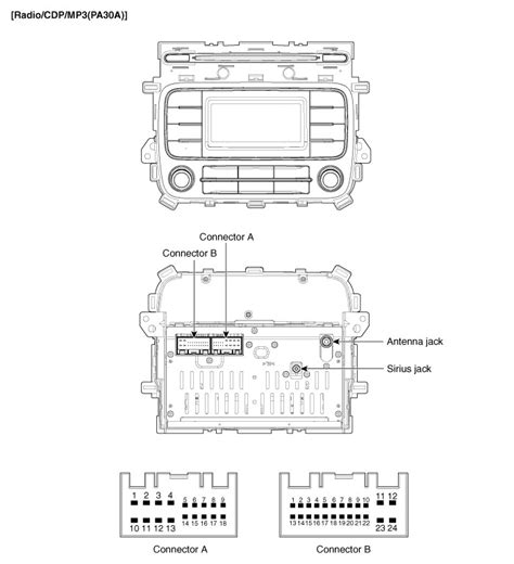2010 kia optima stereo wiring diagram wiring diagram