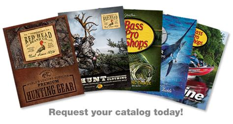 bass pro shop donation request catalog request