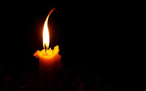 what is candle lighting today empty words