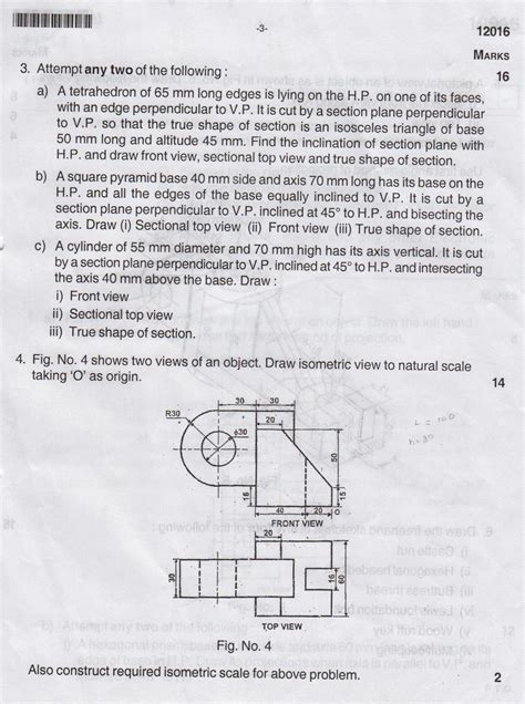 Drawing B Tech Question Papers by Maharashtra State Board Of Technical Education General