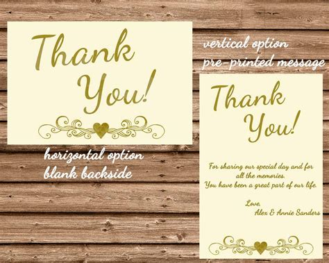 wedding anniversary thank you 50th wedding anniversary ivory thank you cards