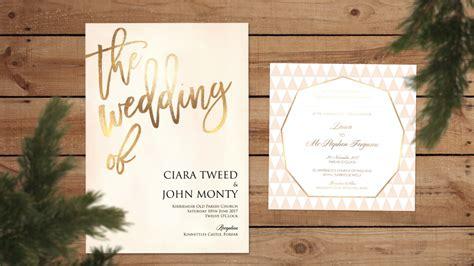 weddings ballymena our favourite wedding invitations - Day Wedding Invitations Ballymena