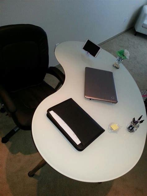 I Bought My Home Office Desk From Ikea I Love The Kidney Kidney Bean Shaped Desk