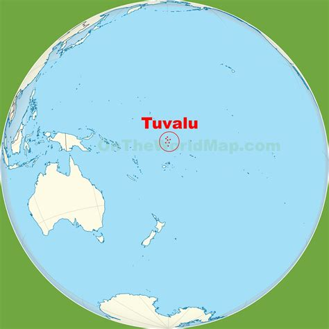 tuvalu on world map tuvalu location on the pacific map