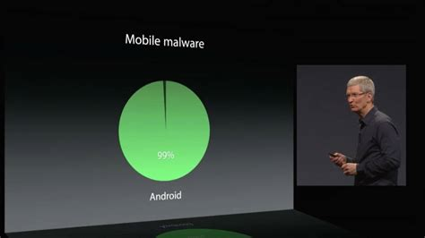 malware on android android is a burning hellstew of malware cackles apple s cook the register