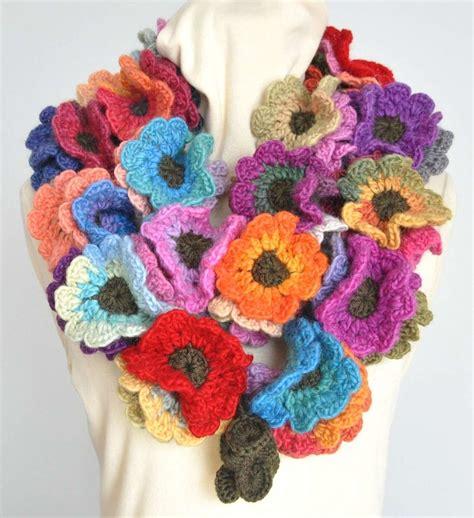 fiori all uncinetto per collane collane creative in fai da te gioielli e