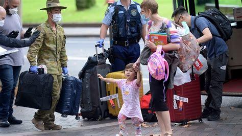 australians  hotel quarantine thanked