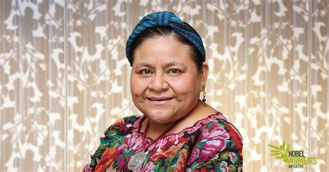 i rigoberta menchu an meet nobel peace laureate rigoberta mench 250 tum nobel women s initiative