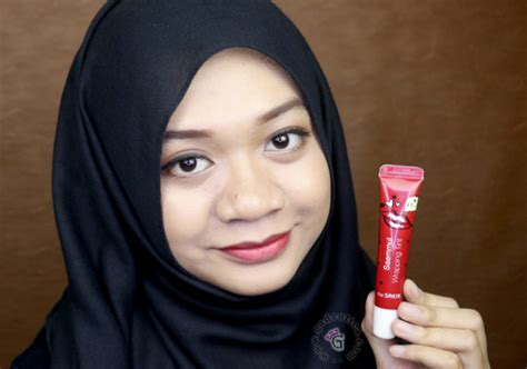 Harga Tony Moly Lip Scrub the saem saemmul wrapping tin yukcoba in