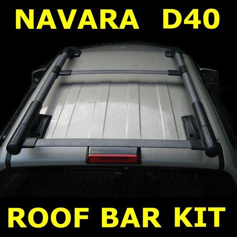 D40 Navara Roof Racks by Nissan Navara Roof Racks D40