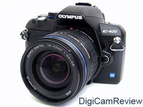 Olympus E 420 2 Lensa Kit Flash digicamreview olympus evolt e 420 dslr digital