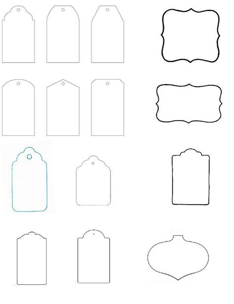 template tag blank gift tag templates the of gifting