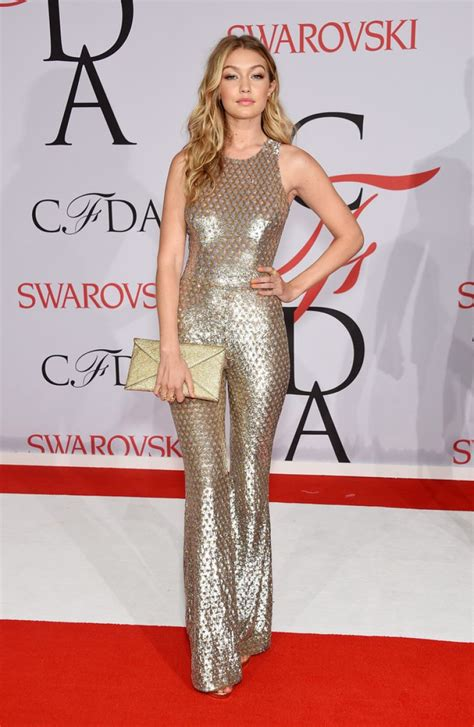 Fashion Awards Carpet Up 2 by Gigi Hadid 2015 Cfda Fashion Awards In New York City