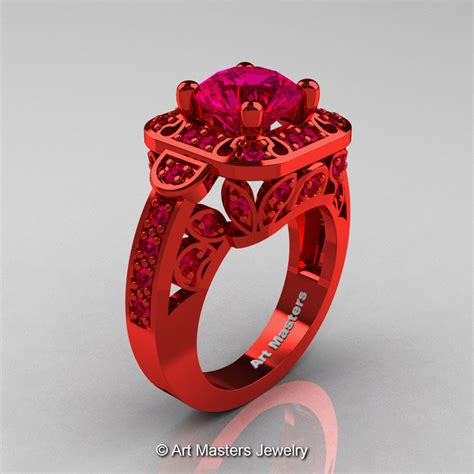 14 82 Ct Blood Ruby masters classic 14k gold 2 0 ct pigeoin blood ruby