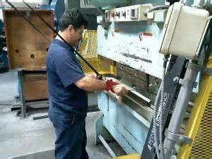 Press Brake Safety Systems Press Brake Guarding Safety Systems Production Resources