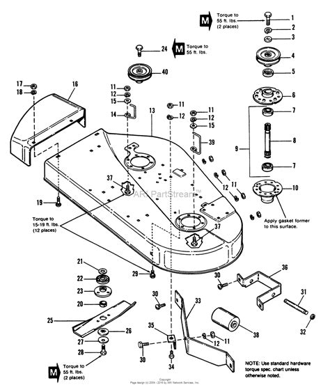 simplicity parts diagram simplicity 1691253 4212h 12hp hydro and 36 quot mower deck