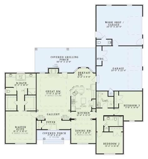plan 110 00928 2 bedroom house plan 110 00135 ranch plan 2 096 square feet 3