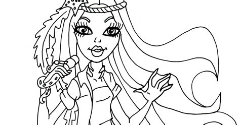 monster high madison fear coloring pages free printable monster high coloring pages madison fear