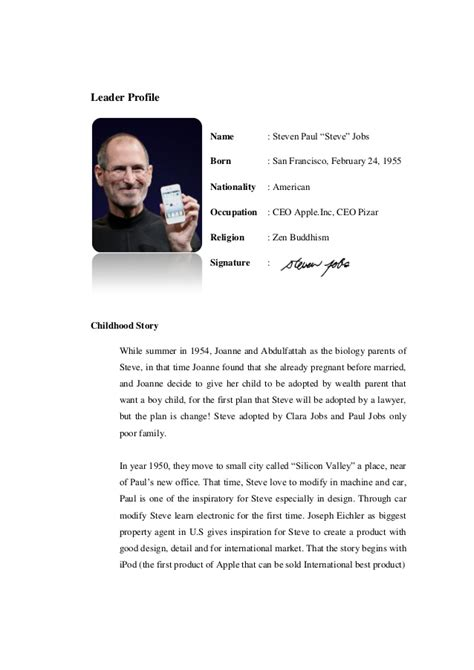 Steve Essay by Steve Leadership Traits Essay Mfacourses887 Web Fc2