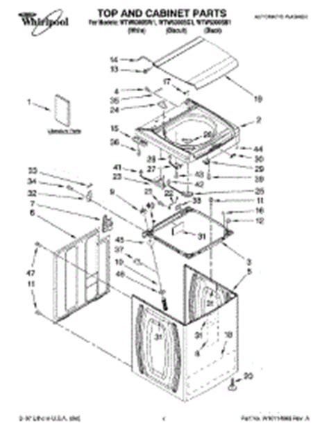Bearing 6300 Wtw parts for whirlpool wtw6300sb1 washer appliancepartspros