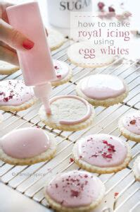 egg white royal icing family spice