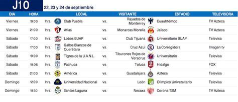 Calendario La Liga 2017 Calendario Completo Apertura 2017 De La Liga Mx