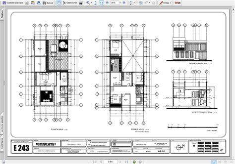 programa para dise ar fachadas de casas gratis dise 241 ar un plano en autocad