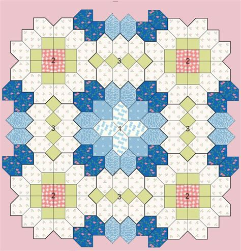 Patchwork Of The Crosses Template - boston patchwork of the crosses tutorial part 2