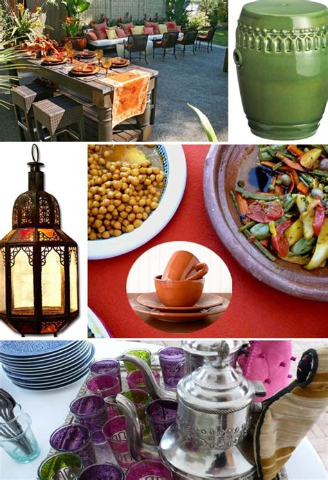 moroccan menu for a dinner moroccan outdoor theme and menu at home with