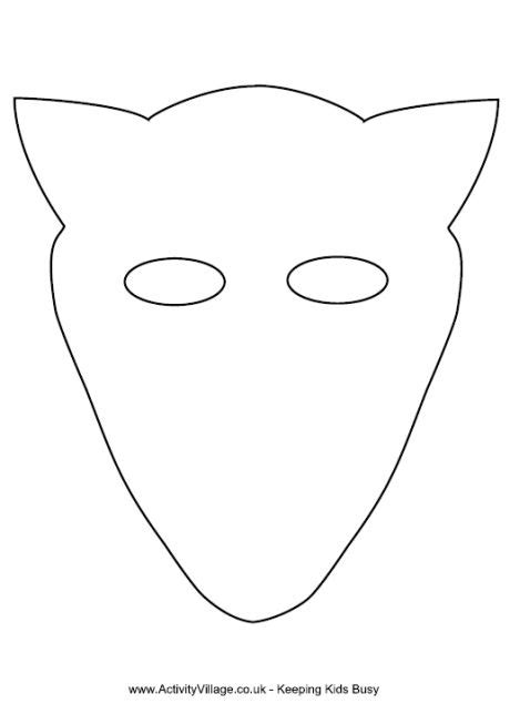 fantastic mr fox mask template fantastic mr fox mask template and on