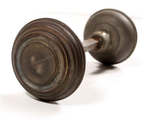 Antique Door Knobs For Sale by Antique Brass Arts Crafts Door Hardware Set With Knobs Plates Ndks68 For Sale Antiques