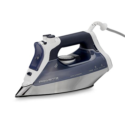 bed bath and beyond ta rowenta pro master iron in irons