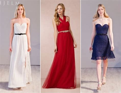 the bridesmaid dress trends for fall 2014 huffpost