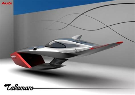 auto volante wordlesstech audi calamaro concept flying car