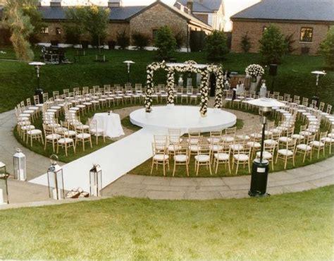 Forest Home Decor by Pretty Garden Wedding Aisle Altar Philippines Wedding Blog