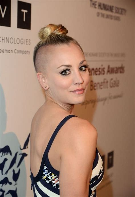 kaley cuoco fakes famousboard page 2 girls with short hair shaved heads page 2 of 116