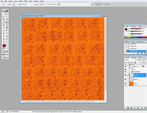 Make Your Own Color Paper - make your own color paper simple way to use brushes to