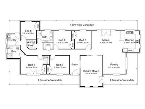 Modern Colonial House Plans Modern 5 Bedroom House Plans 5 Bedroom House Plans Australia Australian Colonial House Plans
