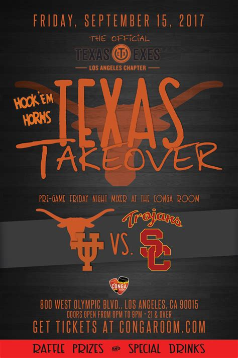 conga room guest list the exes los angeles chapter the conga room will host ut vs usc friday mixer