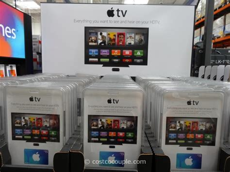 Costco Apple Itunes Gift Cards - apple tv with itunes gift card