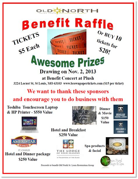 free benefit flyer templates 9 best photos of flyer for raffle wording raffle ticket