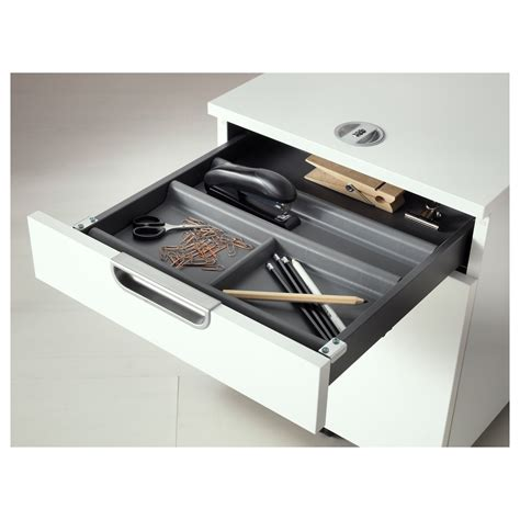 Drawer Management by Summera Drawer Insert With 6 Compartments Anthracite 44x37