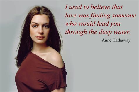 Hathaway Quotes hathaway quotes quotesgram
