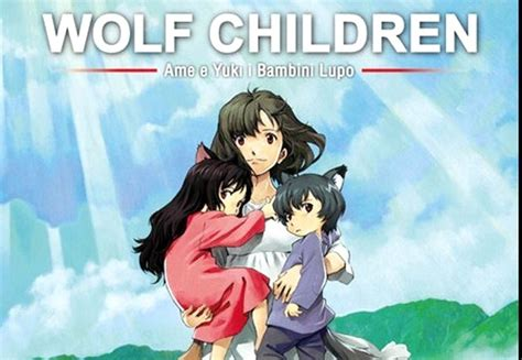7 Anime Trailer Ita by Wolf Children Trailer Italiano Al Cinema Il 13