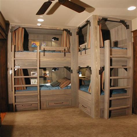 30 best images about bunk bed ideas on pinterest childs bedroom sleepover and triple bunk beds