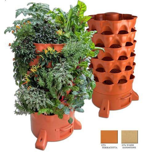 garden tower   plant composting vertical garden planter