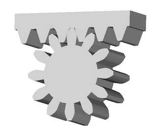 How To Design Rack And Pinion Gears by Reprap Rack Those Pinions